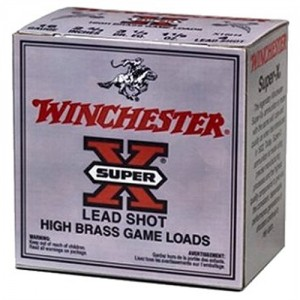 "Winchester Super-X High Brass Game .28 Gauge (2.75"") 8 Shot Lead (250-Rounds) - X28H8"