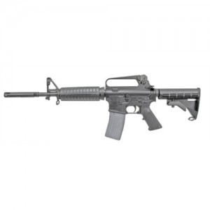 "Olympic Arms K3BCAR .223 Remington/5.56 NATO 30-Round 11.5"" Semi-Automatic Rifle in Black - K3BCAR"