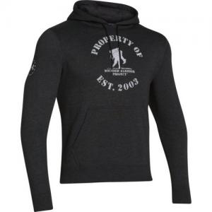Under Armour Property Of Men's Pullover Hoodie in Black - Medium
