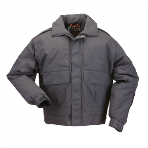 5.11 Tactical Signaure Duty Men's Full Zip Jacket in Black - X-Large