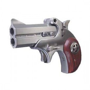 "Bond Arms Cowboy .410/.45 Long Colt 2-Shot 3"" Derringer in Satin Stainless (Defender) - BACD"