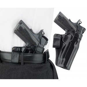 """Galco International Waistband Inside the Pants Right-Hand IWB Holster for 1911 in Black (5"""") - WB212B"""