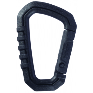 Large Polymer Carabiner Color: Black