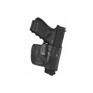 Don Hume Jit Slide Holster, Fits Keltec Pf9, Right Hand, Black Leather 989030r - 989030R