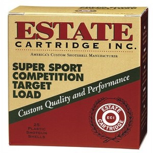 "Estate Cartridge Super Sport Target .410 Gauge (2.5"") 7.5 Shot Lead (250-Rounds) - SS41075"