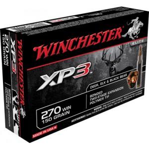 Winchester .270 Winchester Supreme Elite XP3, 150 Grain (20 Rounds) - SXP270W