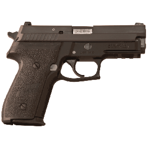 "Sig Sauer P229 Compact CA Compliant 9mm 10+1 3.9"" Pistol in Black Nitron (SIGLITE Night Sights) - 229R9BSSCA"