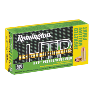 Remington High Terminal Performance .357 Remington Magnum Semi Jacketed Hollow Point, 110 Grain (50 Rounds) - RTP357M7