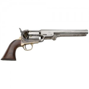 Traditions 44 Cal. Antiqued Black Powder Revolver w/Case Colored Barrel & Frame FR185127