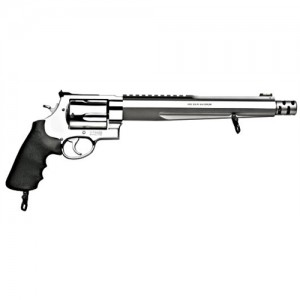 """Smith & Wesson 460 .460 S&W Magnum 5-Shot 10.5"""" Revolver in Satin Stainless (Performance Center XVR) - 170262"""