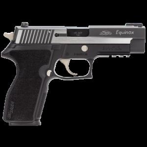 "Sig Sauer P227 Full Size Equinox .45 ACP 10+1 4.4"" Pistol in Black Nitron (TRUGLO Tritium Fiber Optic Front/SIGLITE Night Rear Sights) - 227R45EQ"
