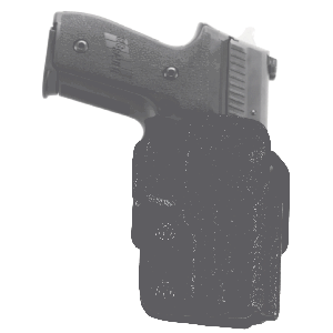 "Galco International Stryker Right-Hand Belt Holster for Sig Sauer P229 in Black (3.9"") - STR250"