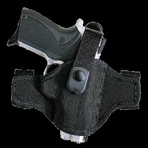 "Bianchi 17852 7506 AccuMold Belt Slide Colt King Cobra/ Python 2"" Accumold Trilaminate Black - 17852"