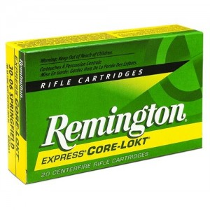 Remington .25-06 Remington Core-Lokt Pointed Soft Point, 100 Grain (20 Rounds) - R25062