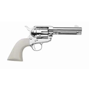 "Traditions 1873 .45 Long Colt 6-Shot 4.75"" Revolver in Nickel (Frontier Nickel) - SAT73131"