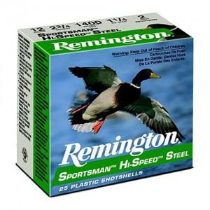 "Remington Sportsman .12 Gauge (2.75"") 2 Shot Steel (250-Rounds) - SST12S2"