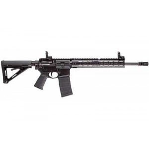 "Primary Weapons Systems MK1 .300 AAC Blackout 30-Round 16.1"" Semi-Automatic Rifle in Black - M116RB1B"