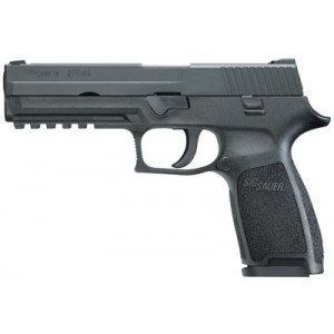 "Sig Sauer P250 Full Size Full .40 S&W 14+1 4.7"" Pistol in Black Nitron (No Manual Safety) - 250F40B"