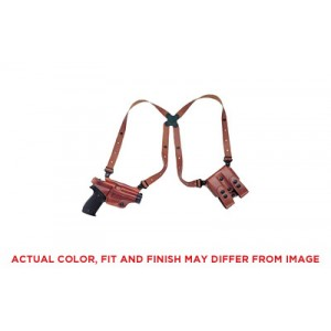 """Galco International Miami Classic II Right-Hand Shoulder Holster for Sig Sauer P229 in Tan Leather (3.9"""") - MCII250"""