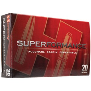 Hornady Superformance .30-06 Springfield SST, 165 Grain (20 Rounds) - 81153