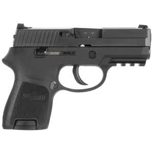 """Sig Sauer P250 SubCompact .40 S&W 10+1 3.6"""" Pistol in Black Nitron (No Manual Safety) - 250SCR40B"""