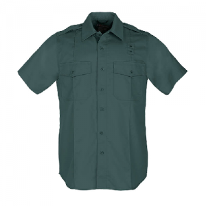 5.11 Tactical PDU Class A Men's Uniform Shirt in Spruce Green - 2X-Large