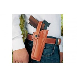 """Desantis Gunhide The Woodsman Right-Hand Belt Holster for Walther P22/Smith & Wesson 41 in Tan (5.5"""") - 097TCLAZ0"""