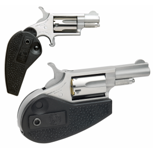 """North American Arms Wasp .22 Winchester Magnum 5-Shot 1.62"""" Revolver in Stainless - HGM"""