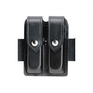 Boston Leather Ranger Belt in Black Basket Weave - 40
