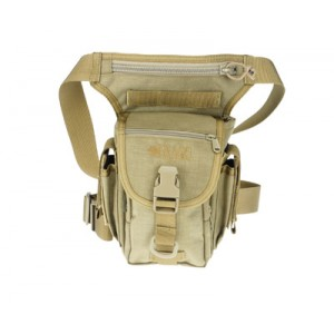 Drago Gear Fanny Pack Waist Bag in Tan 1000D Nylon - 16301TN