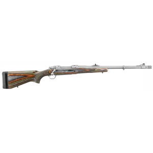 """Ruger M77 Guide Gun .300 Winchester Magnum 3-Round 20"""" Bolt Action Rifle in Stainless Steel - 47116"""
