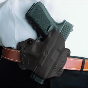 Desantis Gunhide Thumb Break Mini Slide Right-Hand Belt Holster for Springfield XD-S in Black - 085BAY1Z0