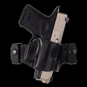 "Galco International Matrix Right-Hand Belt Holster for Ruger P85, P8P9, P90, P93D, P94, P95, P97 in Black (1.5"") - M7X438"