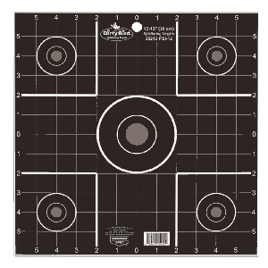 "Birchwood Casey 35212 Dirty Bird Sight-In 12"" Target 12 Pack"