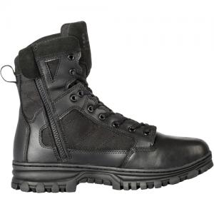 EVO 6  Boot with Side Zip Color: Black Size: 8 Width: Regular