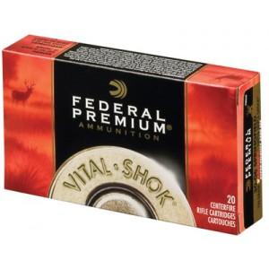 Federal Cartridge Vital-Shok Medium Game .300 Winchester Short Magnum Trophy Copper, 165 Grain (20 Rounds) - P300WSMTC2