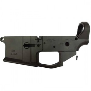ATI American Tactical Imports AR-15 Omni Hybrid Completely Assembled Lower Receiver Reinforced Polymer Multi Caliber with 30 Round PMAG Black ATIGLOW200P
