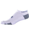 UA Resistor III No Show Color: White Size: 13-15