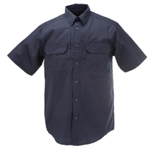 5.11 Tactical Pro Men's Uniform Shirt in Dark Navy - Medium