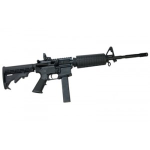 "CMMG M4LE8 9mm 32-Round 16"" Semi-Automatic Rifle in Black - 90A1A7D"