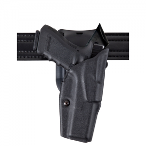 """Safariland 6395 ALS Level I Retention Right-Hand Belt Holster for Smith & Wesson M&P .40 in STX Basketweave (4.25"""") - 6395-219-481"""