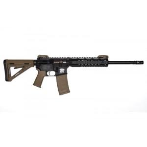 "Wmd Guns Environmental Patrol Rifle, Semi-automatic Rifle, 223 Rem/556nato, 16"" Government Profile Barrel, 1:7 Twist, Black Finish, Magpul Moe Stock And Grip, Magpul Back Up Iron Sights, 1 Magazine, 30rd, 9.25"" Quad Free Float Picatinny Rail 556epr"