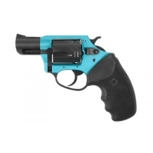 """Charter Arms Santa Fe Sky.38 Special 5-Shot 2"""" Revolver in Fired Case/Turquiose/Black - 53864"""