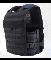 TacProGear Tactical Vest in Nylon Black - Medium