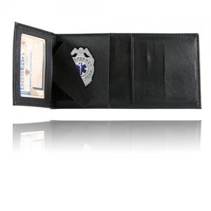 Tri-Fold Badge Case Wallet Badge Fit: BLACKINTON #B1065
