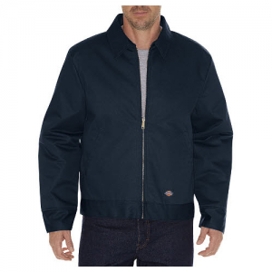 Dickies IKE Men's Full Zip Jacket in Dark Navy - X-Large