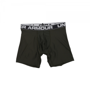 "Under Armour O-Series 6"" Men's Underwear in Artillery Green - 2X-Large"