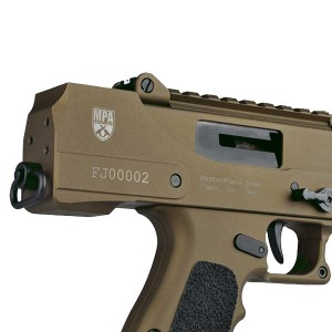 "Masterpiece Arms MPA390DMG 9mm 17+1 3.5"" Pistol in Cerakote Burnt Bronze - MPA930DMG"