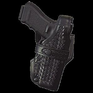 Safariland 07018181 Level III Retention SSIII S&W Basket Leather Blk - 7018181