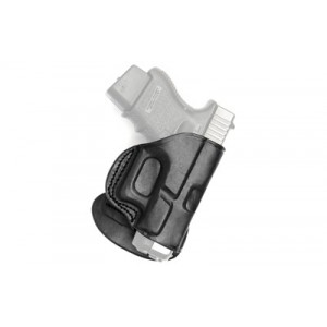 """Tagua Pd2 Paddle Holster, Fits Colt Govt 5"""", Right Hand, Black Pd2-200 - PD2-200"""